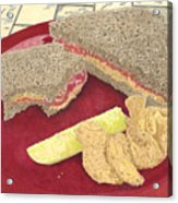 Peanut Butter And Jelly Acrylic Print