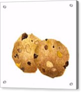 Peanut Butter Chocolate Chip Cookies Acrylic Print