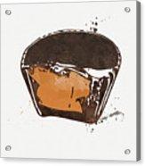 Peanut Butter Cup Acrylic Print
