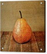 Pear On Cutting Board 1.0 Acrylic Print