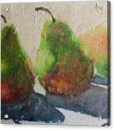 Pear Shadow Acrylic Print