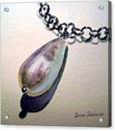 Pearl Acrylic Print by Irina Sztukowski