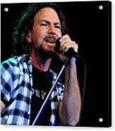 Pearl Jam Acrylic Print