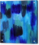 Pearl Raindrops Acrylic Print