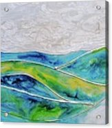 Pearl Sky Acrylic Print