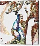 Pearlesqued She Acrylic Print