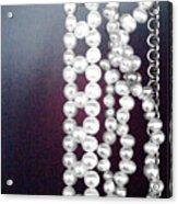 Pearls Acrylic Print