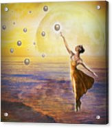 Pearls Of Heaven Acrylic Print