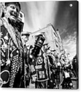Pearly Kings And Queens Of London Hoxton Brick Lane Acrylic Print