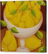 Pears   2007 Acrylic Print