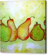 Pears - 2016 Acrylic Print