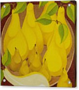 Pears and Pears  2007 Acrylic Print