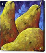 Pears For You Acrylic Print