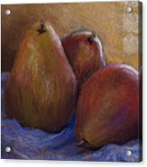 Pears In Natural Light Acrylic Print
