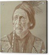 Peatwy Tuck-sac And Fox Acrylic Print