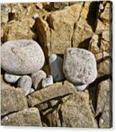Pebble Pocket Photo Acrylic Print