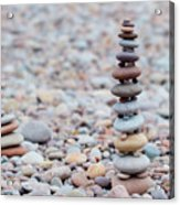 Pebble Stack II Acrylic Print