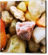Pebbles Acrylic Print