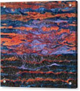 Pebeo After The Sunset Acrylic Print