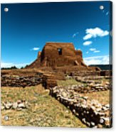 Pecos Ruins New Mexico Acrylic Print