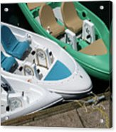 Pedal Boats Acrylic Print