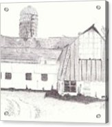 Pedersen Family Barn Acrylic Print
