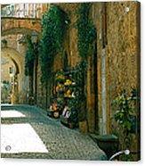 Pedestrian Walkway, Orvieto, Umbria Acrylic Print