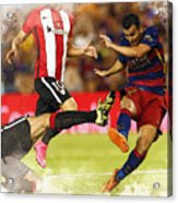 Pedro Rodriguez Kicks The Ball  Acrylic Print