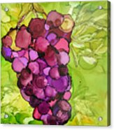 Peel Me A Grape Acrylic Print