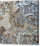 Peeling Wall. Acrylic Print