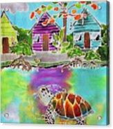 Peepin Tom Acrylic Print