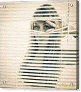 Peeping Alex Acrylic Print