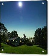 Pegasus And Moon Over The Shenandoah Valley Acrylic Print
