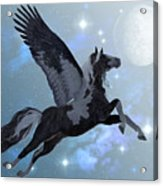 Pegasus Flight Acrylic Print
