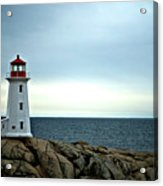 Peggy's Cove Lighthouse - Photographers Collection Acrylic Print