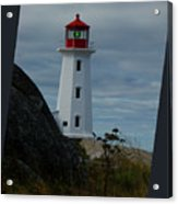 Peggys Cove Lighthouse Acrylic Print