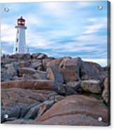 Peggy's Cove Lighthouse Acrylic Print