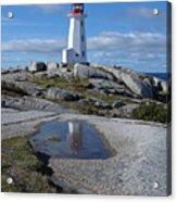 Peggys Cove Nova Scotia Canada Acrylic Print