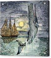 Pehe Nu-e: Moby Dick Acrylic Print