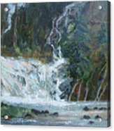 Pelican Falls Acrylic Print