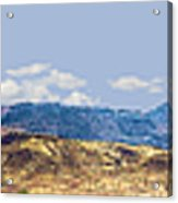 Peloncillo Mountains Panorama Acrylic Print