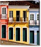 Pelourinho Acrylic Print