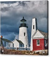 Pemaquid Point Lighthouse 4821 Acrylic Print
