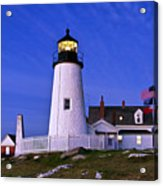 Pemaquid Point Lighthouse Maine Acrylic Print