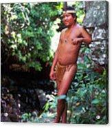 Pemon Tribe Acrylic Print