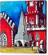 Pena Palace In Portugal Acrylic Print