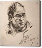 Sketch Man 8 Acrylic Print