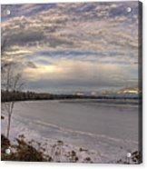 Pend D'oreille Lake Panorama Acrylic Print