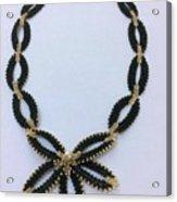Pendant With Beads 1 Acrylic Print