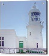 Pendeen Lighthouse Cornwall Acrylic Print